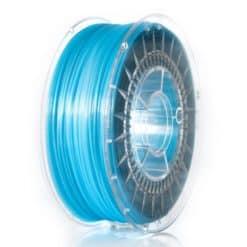 PLA Filament 1,75mm transparent blau